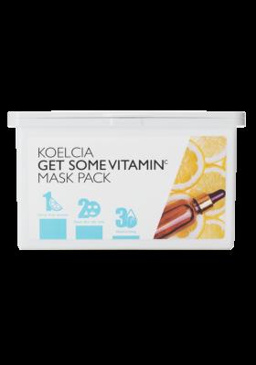 Тканевая маска с витамином С KOELCIA GET SOME VITAMIN C MASK PACK 30 шт: фото