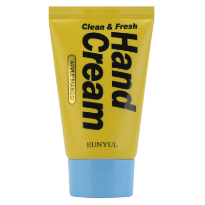 Крем для рук с манго EUNYUL CLEAN & FRESH APPLE MANGO HAND CREAM 50г: фото