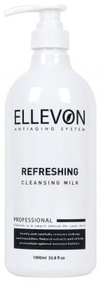 Молочко освежающее очищающее ELLEVON REFRESHING CLEANSING MILK 1000 мл: фото