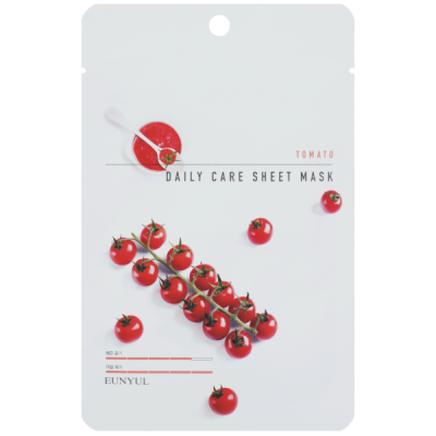 Тканевая маска для лица с экстрактом томата EUNYUL TOMATO DAILY CARE SHEET MASK 22г: фото