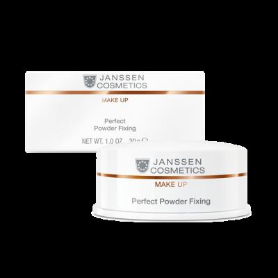 Пудра специальная для фиксации макияжа Janssen Cosmetics Perfect Powder Fixing 30 г: фото