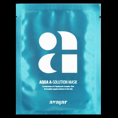 Маска увлажняющая тканевая для сухой обезвоженной кожи Avajar Aqua A-Solution Mask 10 шт: фото