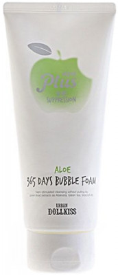 Пенка для умывания Алоэ Baviphat Urban Plus 365 Days Bubble Foam ALOE 180г: фото
