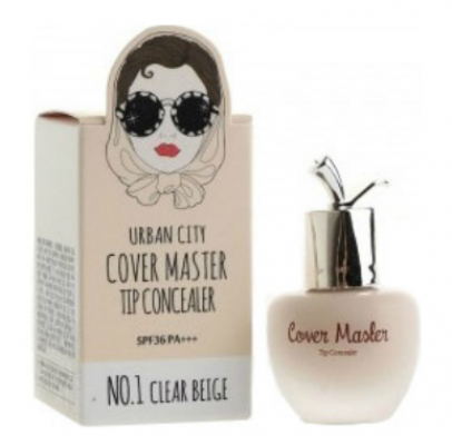 Консилер Baviphat Urban City Cover Master Tip Concealer №1 CLEAR BEIGE 11г: фото