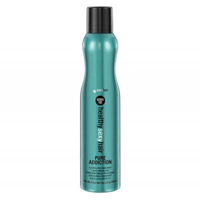 Лак без спирта SEXY HAIR Pure Addiction 305мл: фото