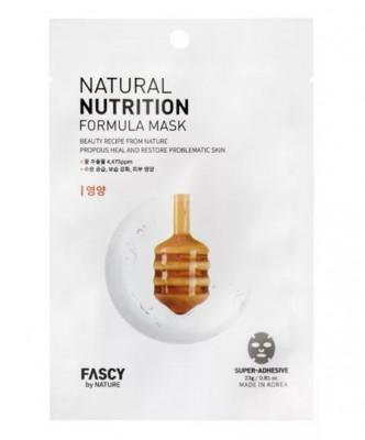 Маска для лица тканевая FASCY Natural nutrition formula mask 23г: фото