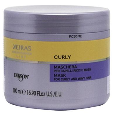 Маска для кудрявых волос Dikson KEIRAS MASK FOR CURLY AND WAVY HAIR 500мл: фото