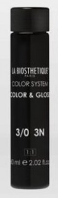 Тонирующий гель без аммиака La Biosthetique Color & Gloss №3/0 Темный шатен 60мл*3: фото