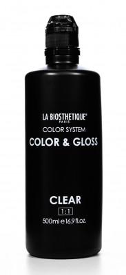 Тонирующий гель без аммиака прозрачный La Biosthetique Color & Gloss Clear 500мл: фото
