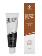 Краска для ресниц и бровей BRONSUN #5 светло-коричневый 15мл: фото