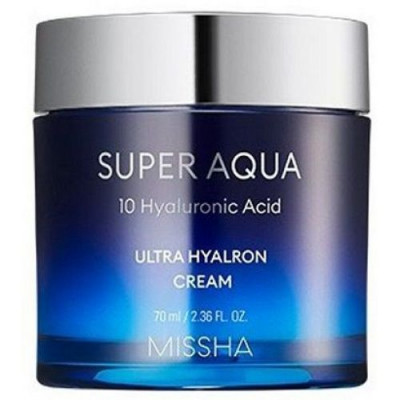 Крем увлажняющий MISSHA Super Aqua Ultra Hyalron Cream 70 мл: фото