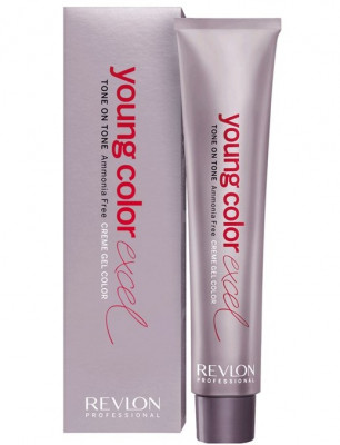 Крем-гель полуперманентный Revlon Professional Young Color Excel 6.65 пурпурно-красный 70мл: фото