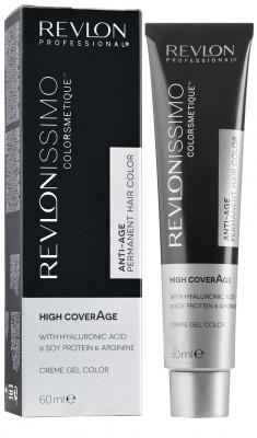 Краска для седых волос Revlon Professional Revlonissimo High Coverage 7.32 Перламутрово -Золотой Блондин 60мл: фото