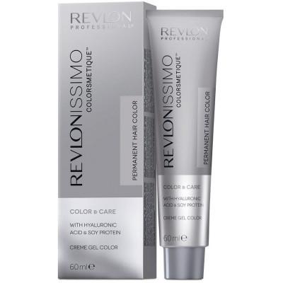 Краска перманентная Revlon Professional Revlonissimo Colorsmetique 7.01 Блондин Пепельный 60мл: фото