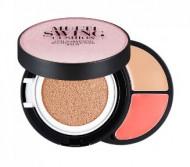 Мульти-палетка для макияжа THE FACE SHOP MULTI SWING CUSHION N201: фото