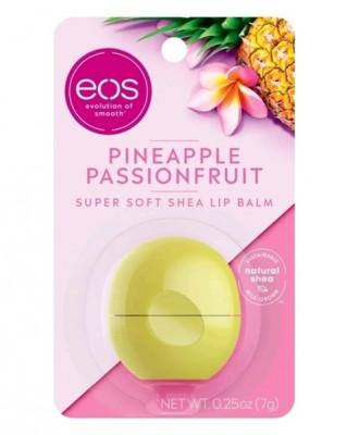 Бальзам для губ Ананас и маракуйя Eos flavor pineapple passionfruit lip balm 7г: фото