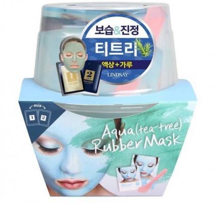 Альгинатная маска с чайным деревом Lindsay AQUA Magic Mask tea tree 65г+6,5г: фото