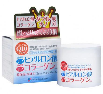 Крем Увлажняющий с наноколлагеном и наногиалуроновой кислотой Meishoku HYALCOLLABO CREAM 48 г: фото