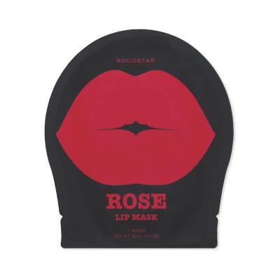 Патч для губ гидрогелевый Роза Kocostar Rose Lip Mask Single Pouch 3 г: фото