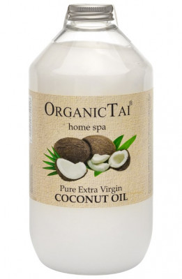 Масло кокосовое, холодный отжим ORGANIC TAI Pure Extra Virgin Oil Coconut 1000 мл: фото