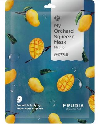 Тканевая маска с манго Frudia My Orchard Squeeze Mask Mango 20 мл: фото