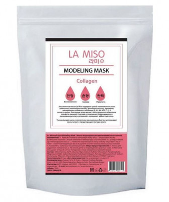 Маска альгинатная с коллагеном для сухой кожи LA MISO Modeling Mask Collagen 1000 г: фото