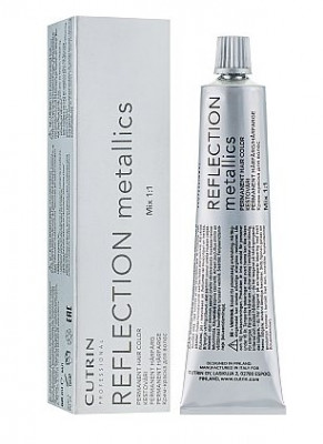 Крем-краска для волос CUTRIN REFLECTION METALLICS 8R жемчужный блонд 60мл: фото