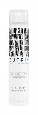 Лак экстрасильной фиксации CUTRIN MUOTO EXTRA STRONG HAIRSPRAY 100мл: фото
