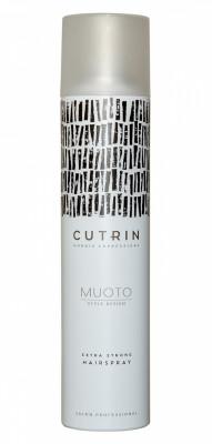 Лак экстрасильной фиксации CUTRIN MUOTO EXTRA STRONG HAIRSPRAY 300мл: фото