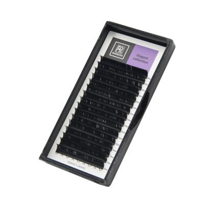Чёрные ресницы BARBARA Elegant МИКС (D+ 0.07 7-15mm): фото