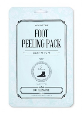 Носочки для пилинга гладкие пяточки Kocostar Foot Peeling Pack 40 мл: фото