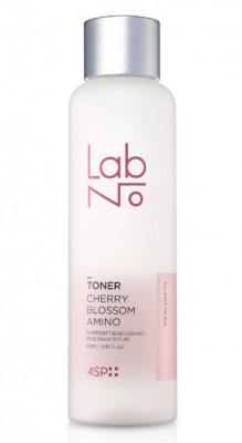 Тонер с аминокислотой и вытяжкой из цветов вишни LabNo 4SP Cherry Blossom Amino Toner 250 мл: фото