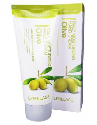 Крем для рук с маслом оливы Lebelage Daily Moisturizing Hand Cream Olive 100 мл: фото