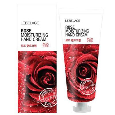 Крем для рук увлажняющий с экстрактом розы Lebelage Moisturizing Hand Cream Rose 100 мл: фото