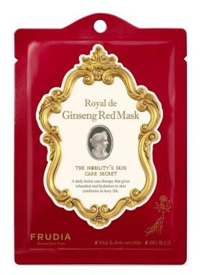 Маска омолаживающая с красным женьшенем Frudia Royal de Ginseng Red Mask 20 мл: фото