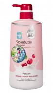 Крем-гель для душа вишня с молоком LION Thailand Shokubutsu Monogotari 500 мл: фото