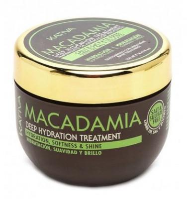 Интенсивно увлажняющая маска для волос Kativa Macadamia 250мл: фото