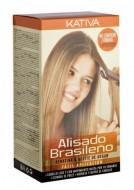 Набор для кератинового выпрямления и восстановления волос с маслом Арганы Kativa KERATINA: фото