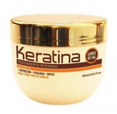 Маска с кератином для поврежденных и хрупких волос Kativa KERATINA 250мл: фото