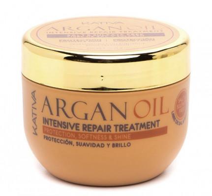 Увлажняющая маска для волос с маслом Арганы Kativa ARGAN OIL 250г: фото