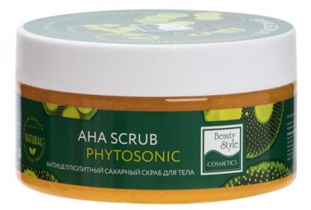 "Антицеллюлитный сахарный скраб для тела ""AHA Scrub Phytosoniс"" Beauty Style 200 мл: фото"