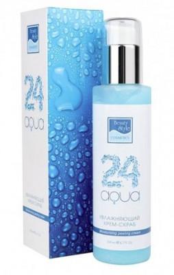 Увлажняющий крем-скраб Beauty Style Аква24 200мл: фото