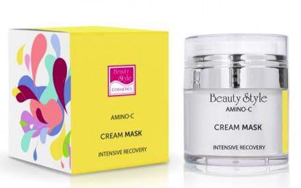 """Интенсивно восстанавливающая крем-маска Beauty Style """"Intens recovery Amino - C"""" 50 мл: фото"""