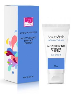 """Увлажняющий крем-парфе с фосфолипидами Beauty Style """"Hyaluron - Hydro active"""" SPF15 50 мл: фото"""
