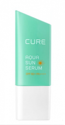 Сыворотка охлаждающая солнцезащитная Cure Aloe Aqua Sun serum SPF50+ 50мл: фото