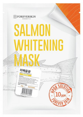 Отбеливающая тканевая маска для лица FOREVERSKIN Salmon Whitening Mask 25 мл: фото
