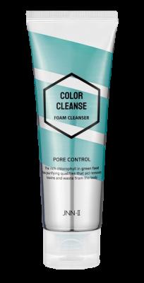 Пенка для умывания, сужающая поры JUNGNANI JNN-II COLOR CLEANSE FOAM CLEANSER PORE CONTROL 100мл: фото