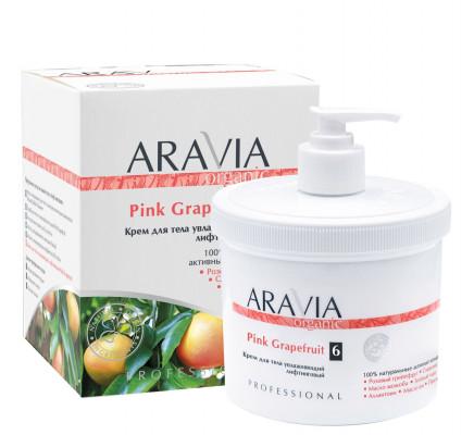 Крем для тела увлажняющий лифтинговый ARAVIA Organic Pink Grapefruit 550мл: фото