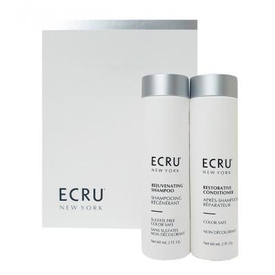 Набор Восстановление волос и защита цвета ECRU RESTORE AND COLOR SAFE: фото