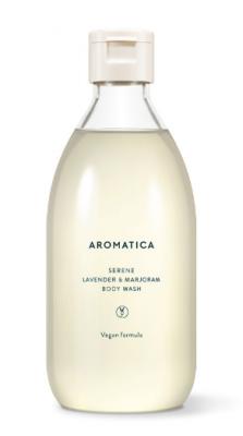 Гель для душа с лавандой и майораном AROMATICA Serene Body Wash Lavender & Marjoram 300мл: фото